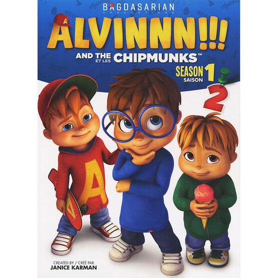 Alvin and the Chipmunks - Season 1: Volume 2 - DVD