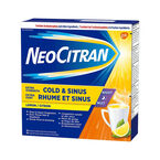 NeoCitran Extra Strength Cold & Flu Lemon Flavour - 10's