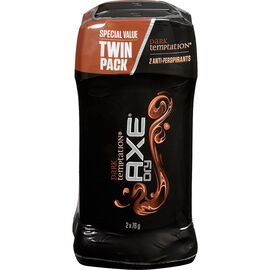 Axe Dry Anti-Perspirant Stick - Dark Temptation - 2 x 76g