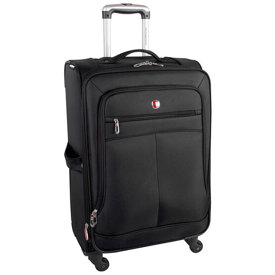 "Swiss Gear Salzburg Lite Collection 24"" Upright - Black - SW20274"