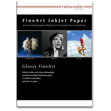 Hahnemuhle Gloss & Canvas Sample Pack - 8.5 x 11 inch - 16 sheets