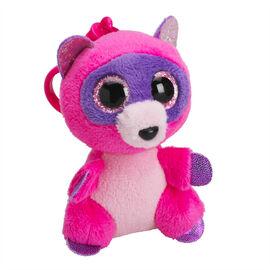 Ty Beanie Boos Clip - Roxie the Pink Raccoon
