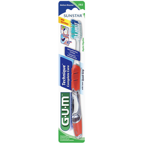 G.U.M. Technique+ Full Head Toothbrush - Medium