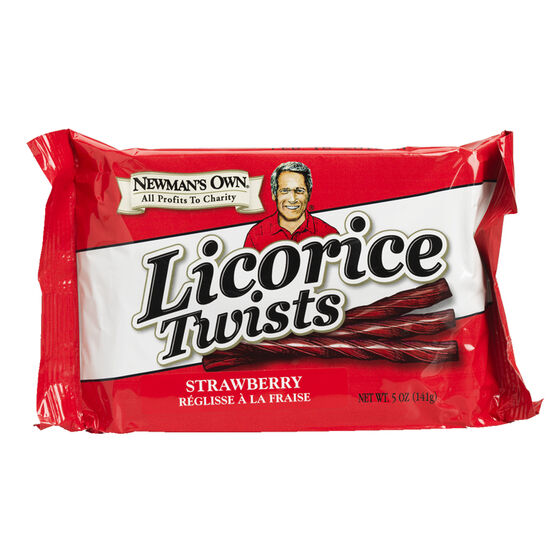 Newman's Own Licorice Twists - Strawberry - 141g