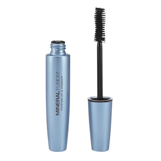 Mineral Fusion Waterproof Mineral Mascara - Raven