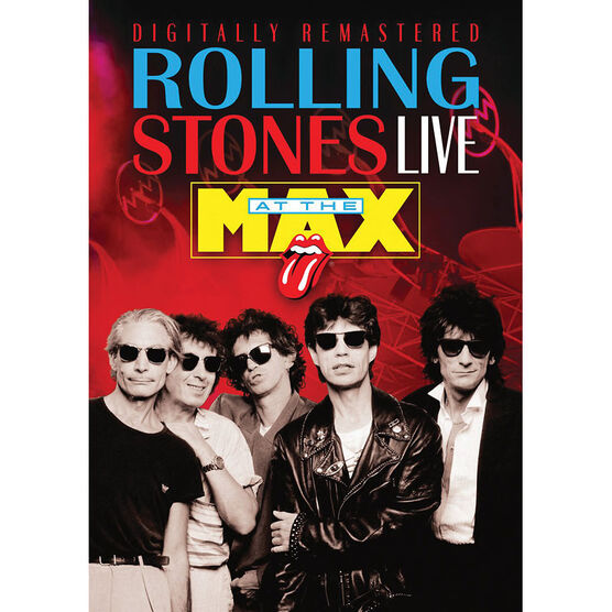 The Rolling Stones: Live at the Max - DVD