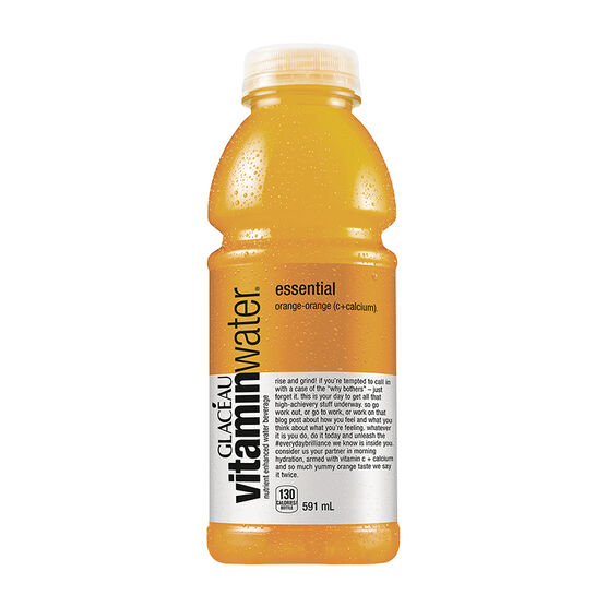 Glaceau Vitamin Water Essential - Orange Orange - 591ml