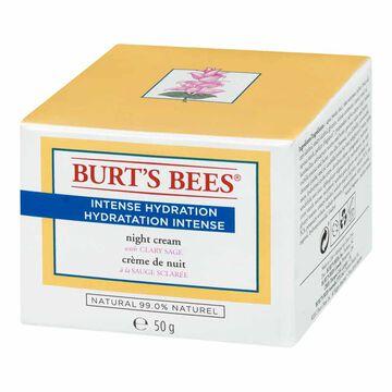 Burt's Bees Intense Hydration Night Cream with Clary Sage - 50g