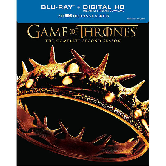 Game Of Thrones: Season Two - Blu-ray