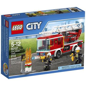 Lego City - Fire Ladder Truck