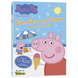 Peppa Pig: Sun, Sea and Snow - DVD