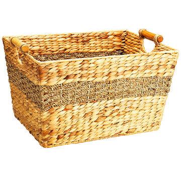London Drugs Water Hyacinth Seagrass Basket