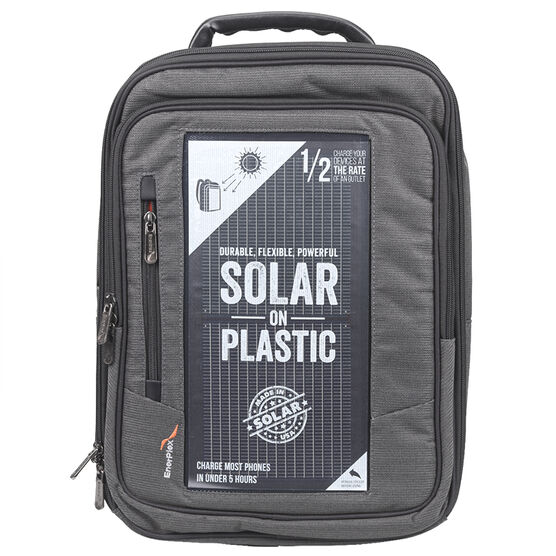 EnerPlex Packr Executive Solar Backpack - PREXECGY