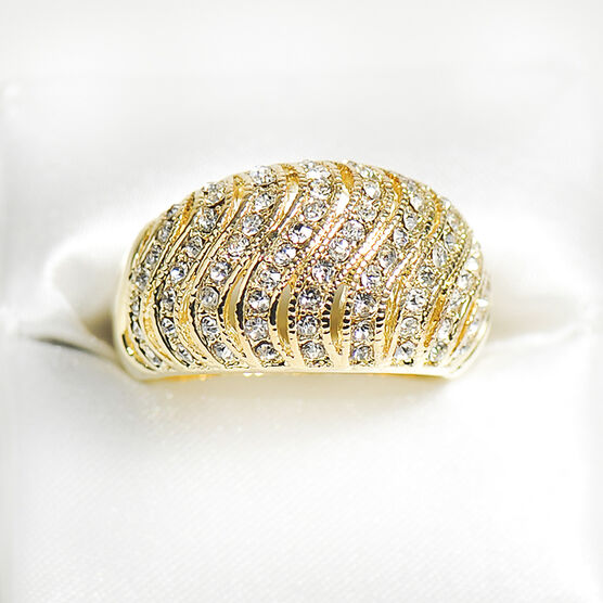 Marca Crystal Ring - Size 7