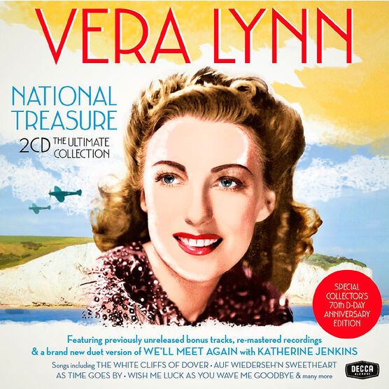 Vera Lynn - National Treasure: The Ultimate Collection - 2CD