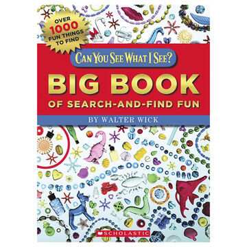 Can You See What I See Big Book of Search-and-Fun