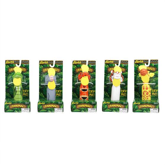 Slinky Backyard Safari Fanimals - Assorted