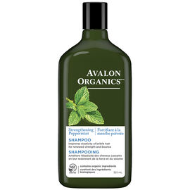 Avalon Organics Strengthening Shampoo - Peppermint - 325ml