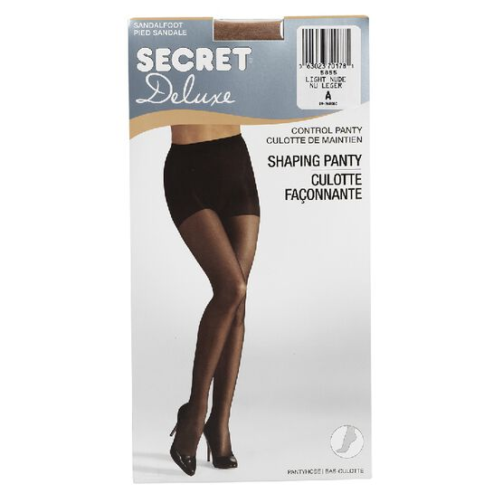 Secret Ultra Silky Pantyhose - A - Light Nude
