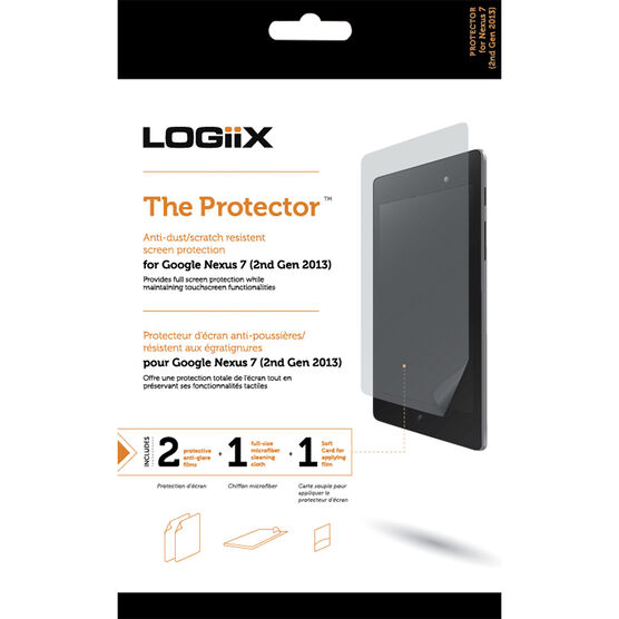 Logiix Screen Protector for Google Nexus 7 - Clear - LGX-10770