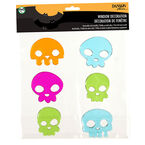 Halloween Jelly Window Clings - Assorted