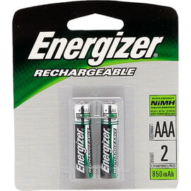 Energizer NH 12BP-2 - Battery - Rechargeable - AAA - NiMH x 2 - 750 mAh