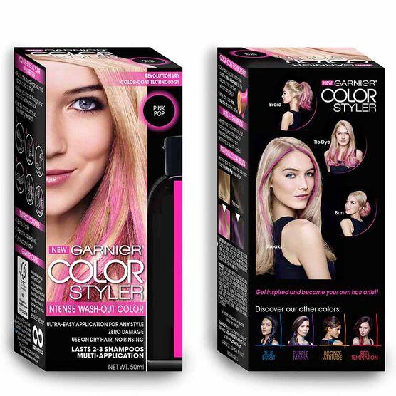 Garnier Color Styler Intense Wash-Out Color - Pink