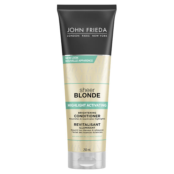 John Frieda Sheer Blonde Highlight Activating Enhancing Conditioner for Lighter Blondes - 250ml