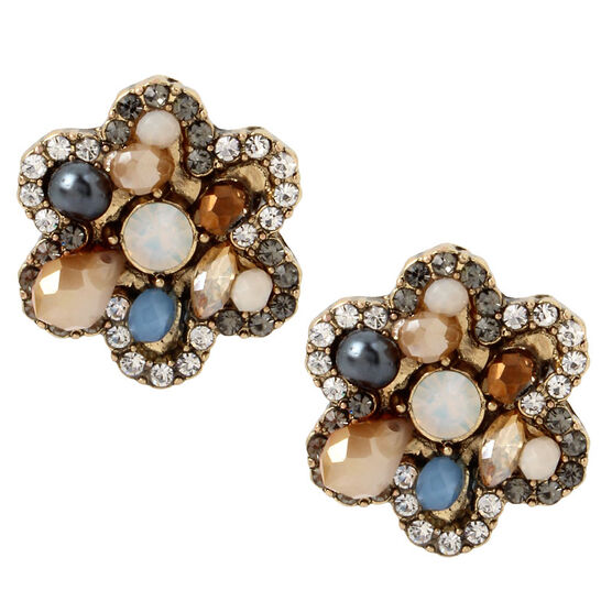 Haskell Stud Earrings - Multi