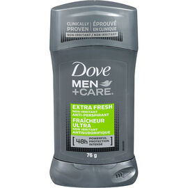 Dove Men +Care Extra Fresh Non Irritant Anti-Perspirant Stick - 76g