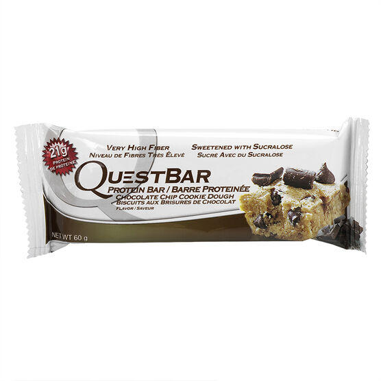Quest Protein Bar - Chocolate Chip Cookie Dough - 60 g