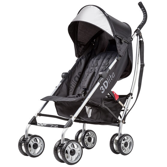 Summer 3D Lite Convenience Stroller - Black - 21313A