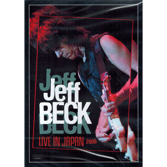 Jeff Beck: Live in Japan 2006 - DVD