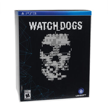 PS3 Watch Dogs Limited Edition