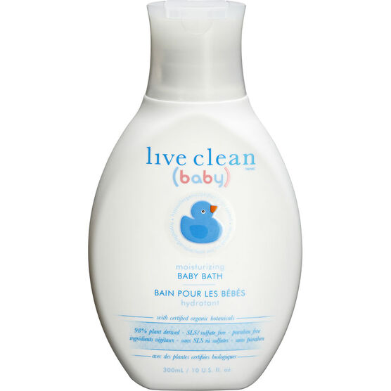 Live Clean Moisturizing Calming Baby Bath - 300ml