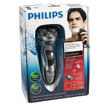 Philips Aqua Touch Pro Shaver - Black - AT940/20