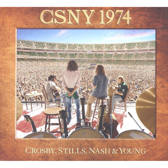 Crosby, Stills, Nash and Young - CSNY 1974 - DVD + 3 CD