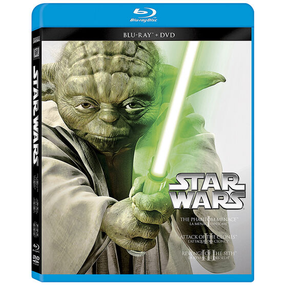 Star Wars Trilogy: Episodes I, II, III - Blu-ray + DVD