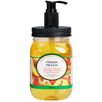 Aromanice Mason Jar Pump Handsoap - Fresh Peach - 500ml
