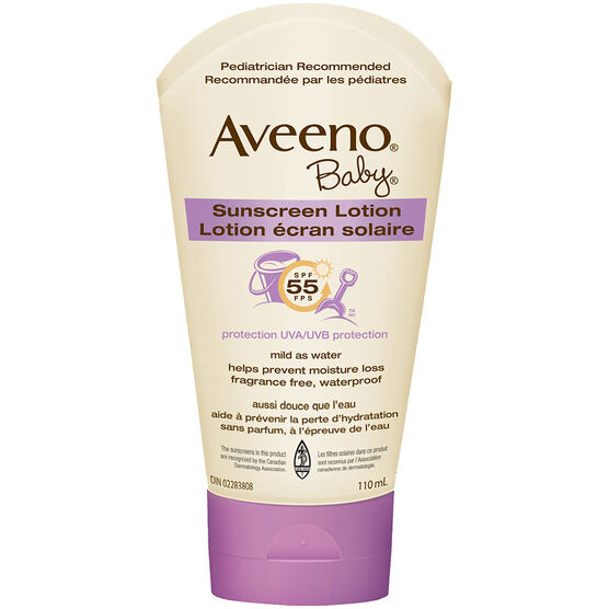 Aveeno Sunscreen Baby - SPF 55 - 110ml
