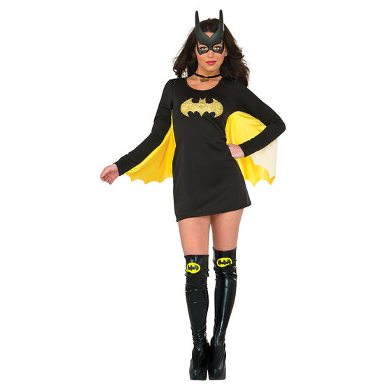 Halloween Batgirl Wing Dress