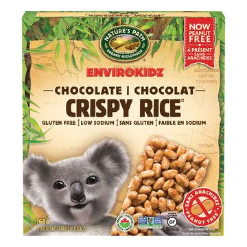 Nature's Path Envirokidz Crispy Rice Bars - Chocolate - 168g