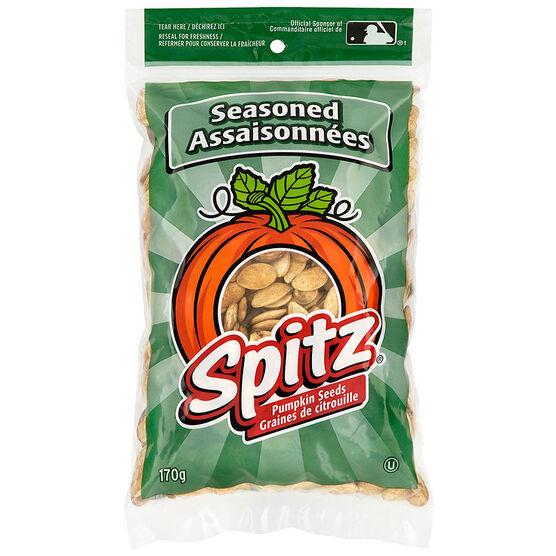 Spitz Pumpkin Seeds - Seasoned - 170g