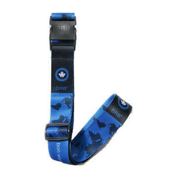 Orb Luggage Strap - Earth - Blue/Grey - LS260-BLG
