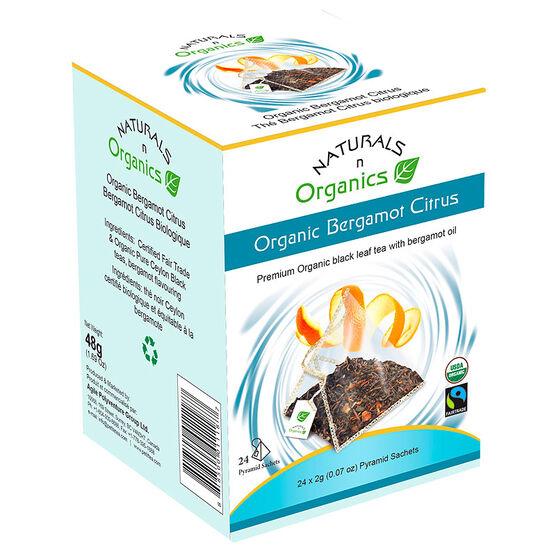 Naturals 'n Organics Tea - Bergamot Citrus - 24's