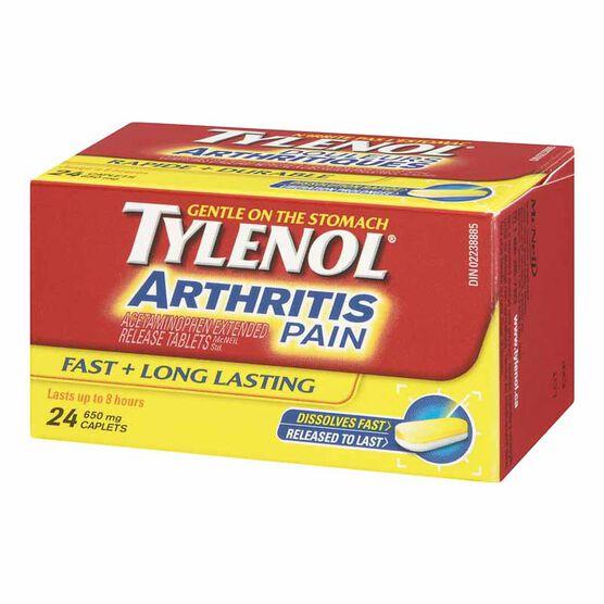 Tylenol* Arthritis Pain Caplets - 24's