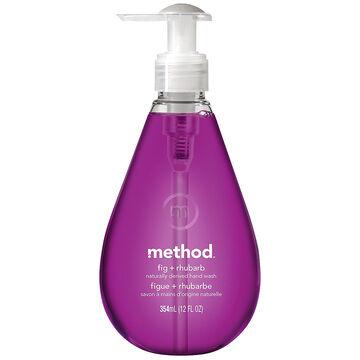 Method Gel Hand Wash - Fig and Rhubarb - 354ml
