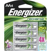 Energizer Rechargeable NIHM Batteries - AA - 4 pack - NH15BP4