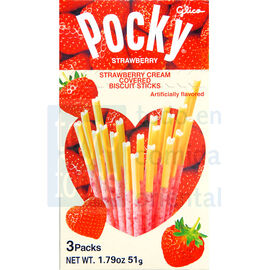 Glico Pocky - Strawberry Crush - 51g
