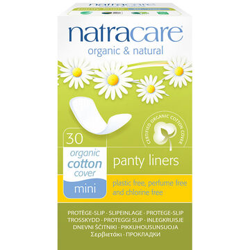 Natracare Mini Panty Liners - 30's